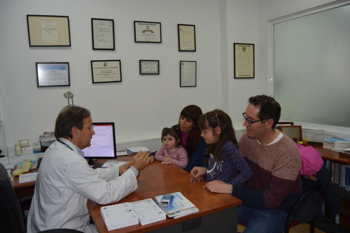 Consulta pediàtrica